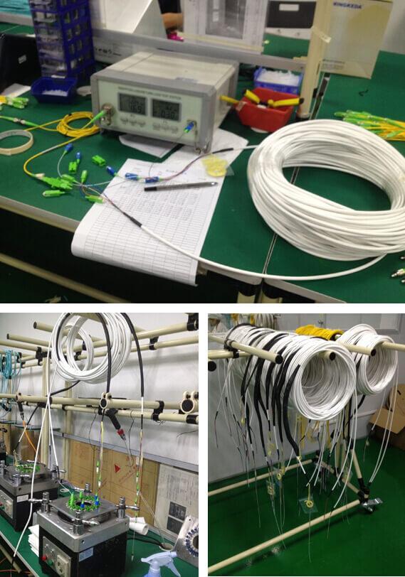 Optical Fiber Pigtail RL Test
