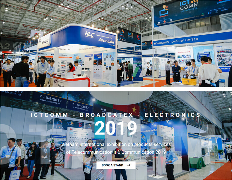 ICT COMM2019 Vietnam Exhibition