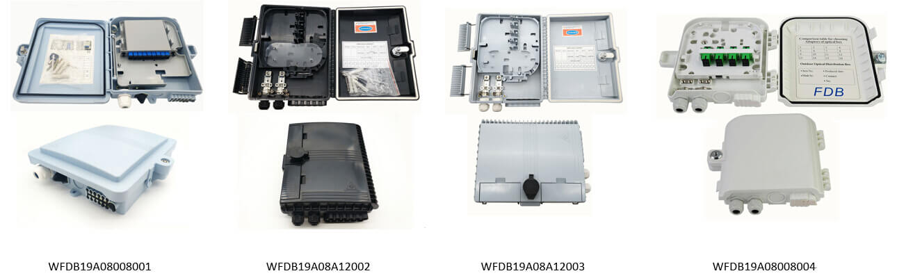 4 Fiber Distribution Box